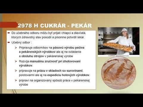 cukrár - pekár
